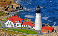 Lighthouses of New England Scenic Photography